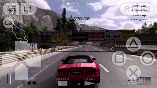 Gran Turismo 4 on Android