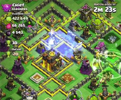 CoC screenshot